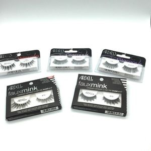 Ardell glamour lashes . New wispies glamour .4 set